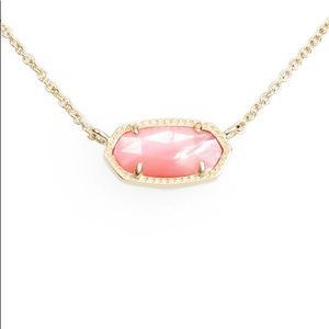 New Kendra Scott Mother of pearl gold necklace